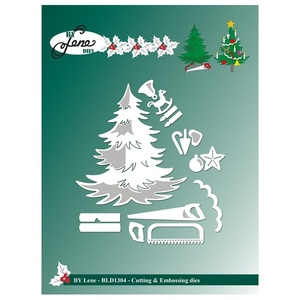 "BY LENE DIES ""Christmas Tree"" BLD1304"