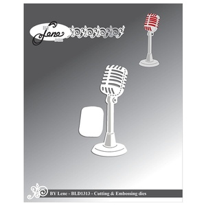 "BY LENE DIES ""Microphone"""