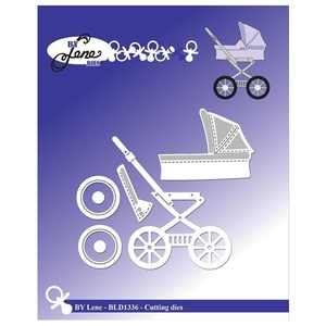 "BY LENE DIES ""Baby Carriage"""