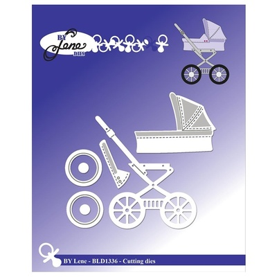 """BY LENE DIES """"Baby Carriage"""""""