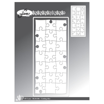 """BY LENE DIES """"Slimcard Puzzle"""""""