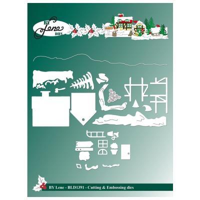 """BY LENE DIES """"Christmas Landscape"""""""