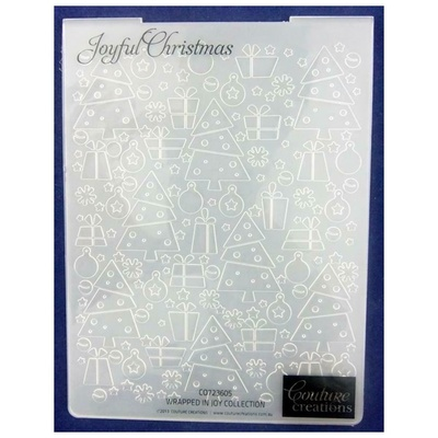 Couture - Embossing folder