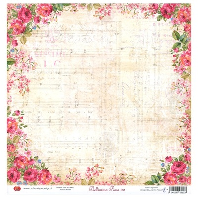 Craft & You - Bellissima Rosa 02