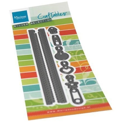 MARIANNE DESIGN  - CR1528 Long Zipper