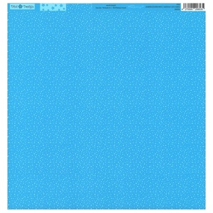 Dini Design - Dots Flowers - Lagoon blue