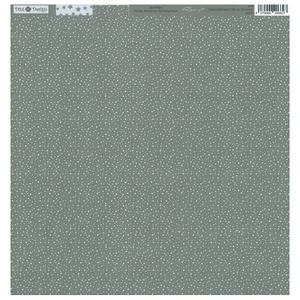 Dini Design - Dots Flowers - Stone gray