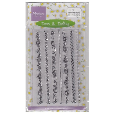 Marianne design clear stamps