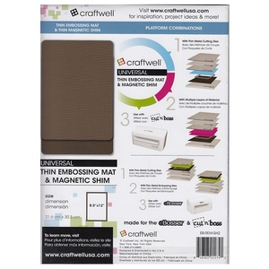 Craftwell - Thin Embossing mat & Thin Magnetic Shim
