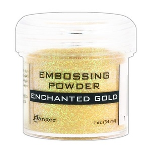 Ranger - Embossing Powder, Enchanted Gold