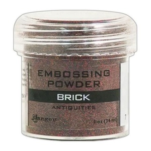 Ranger - Embossing Powder, Brick