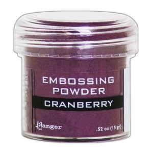 Ranger - Embossing Powder, Cranberry