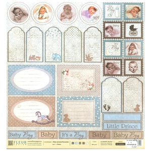 Fleur Design -  Our baby boy - Tags