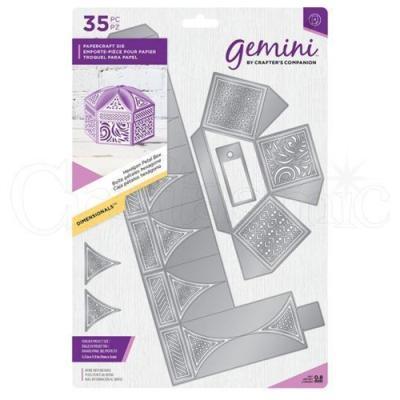 "Gemini Die ""Hexagon Petal Box"""
