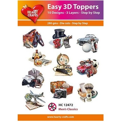 Easy 3D Toppers 10 ASS.