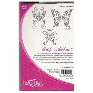 Heartfelt Creations - Cling Stamps