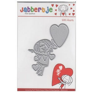 Die Cut/Embos  With Hearts