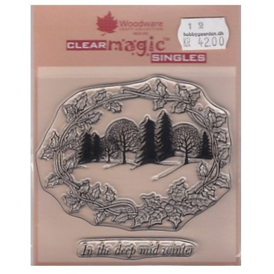 Woodware, Clear Magic Singles Winter Wonderland