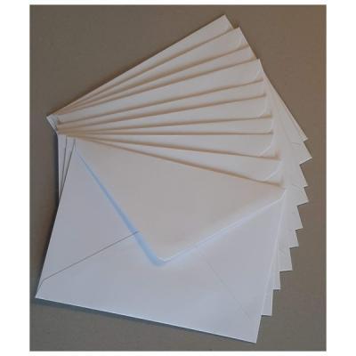 Kuvert 133 x 188 mm, 25 stk.