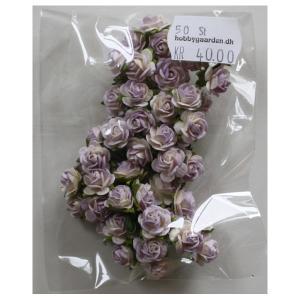 Roser - Lilac tone 10 mm 50 stk