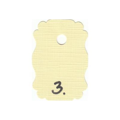 Karton, Linen 13,5 x 27 cm 10 stk