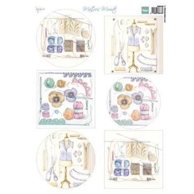 MARIANNE DESIGN - 3D ARK MB0189 Mattie's Crochet