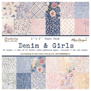 Denim & Girls - Paper Pack 6 x 6