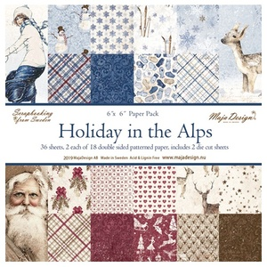 Holiday in the Alps - Paper Pack