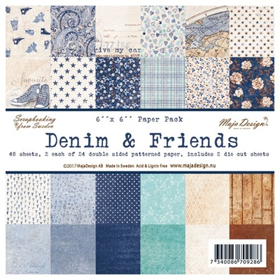 Denim & Friends - Paper Pack