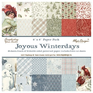 Joyous Winterdays - Paper Pack