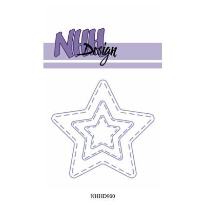 """NHH Design Dies """"Stitched Stars"""""""