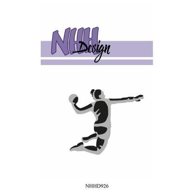"""NHH Design Layered Dies """"Female Handball Player"""""""