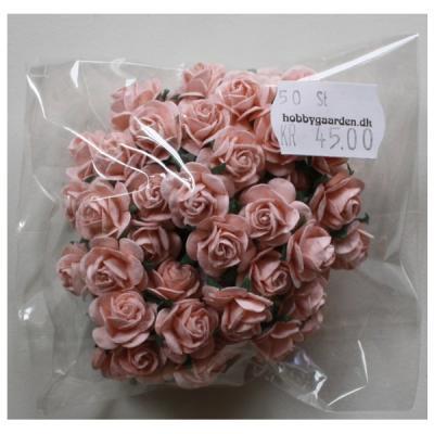 Roser - Pale Pink 15 mm 50 stk