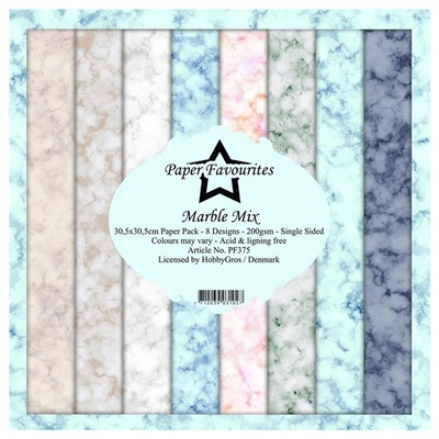"""Paper Favourites Paper Pack """"Marble Mix"""""""