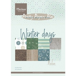 Blok A5, Marianne design Winter days