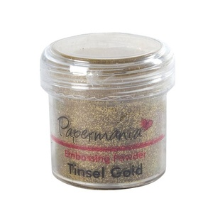 Papermania - Embossing Powder Tinsel Gold