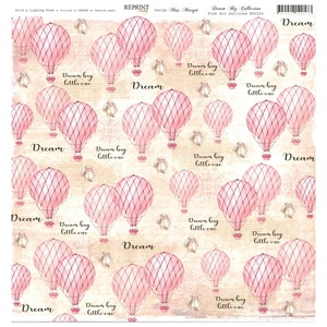 Reprint - Dream Big Collektion, Pink Air Balloons