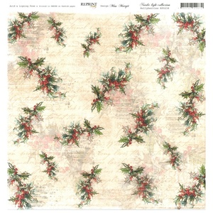 Reprint - Nordic Light Collection, Hollyberries