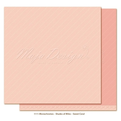 Monochromes - Shades of Miles - Sweet Coral