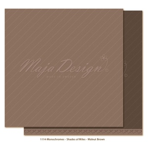Monochromes - Shades of Miles - Walnut Brown