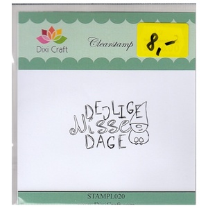 Dixi Craft Clearstamp UDSALG
