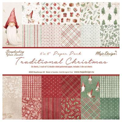 Traditional Christmas - 6 x 6