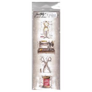 Tim Holtz Design - Cling Stamps