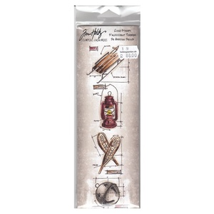 Tim Holtz - Cling Stamps
