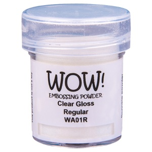 WOW Embossing powder - Clear Gloss Regular