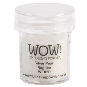 WOW Embossing powder - Silver Pearl Regular