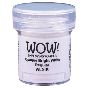 WOW Embossing powder - Opaque Bright White Regular