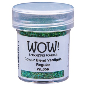 WOW Embossing powder - Colour Blend Verdigris Regular