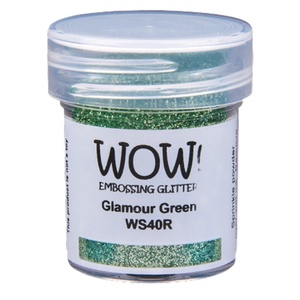 WOW Embossing powder - Glamour Green Embossing Glitter