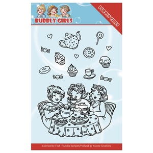 Yvonne Creations - Bubbly Girls - Tea Party